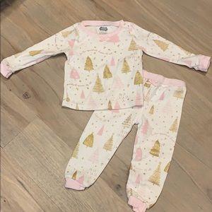 Mud pie holiday/Christmas pajama set